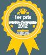 services pour l'édition : 1er prix de la création d'entreprise 2012 catégorie Culture