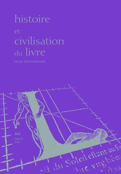 Histoire et Civilisation du Livre
