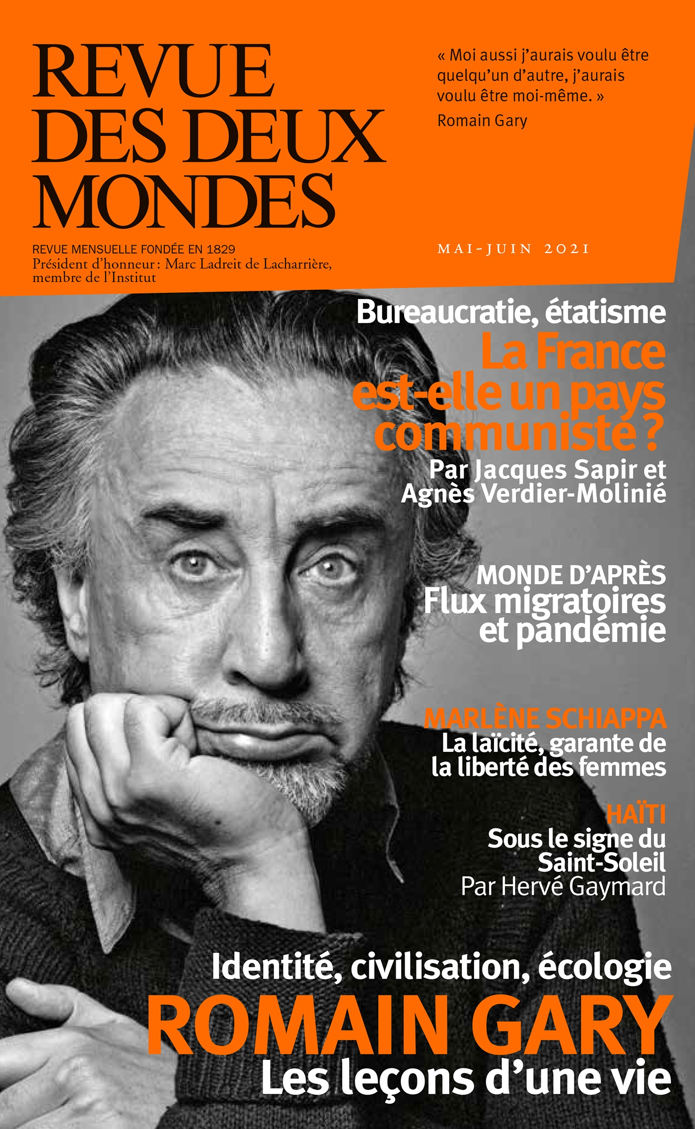 Revue des deux mondes mai/juin 2021